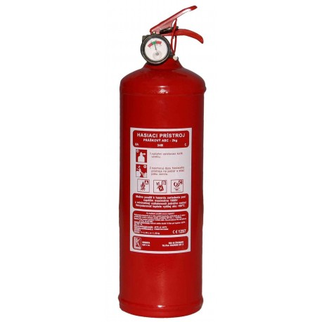 Práškový hasiaci prístroj